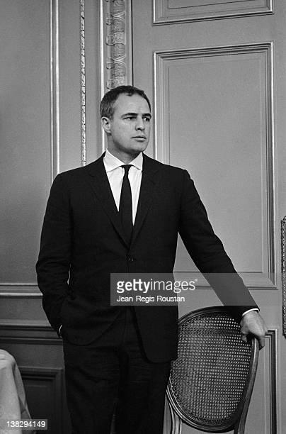 Marlon Brando American actor and director on March 16 1965