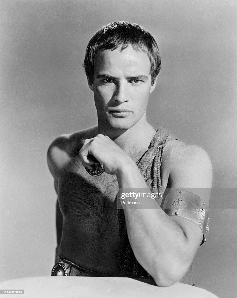 Marlon Brando in Costume for Julius Caesar, 1953.