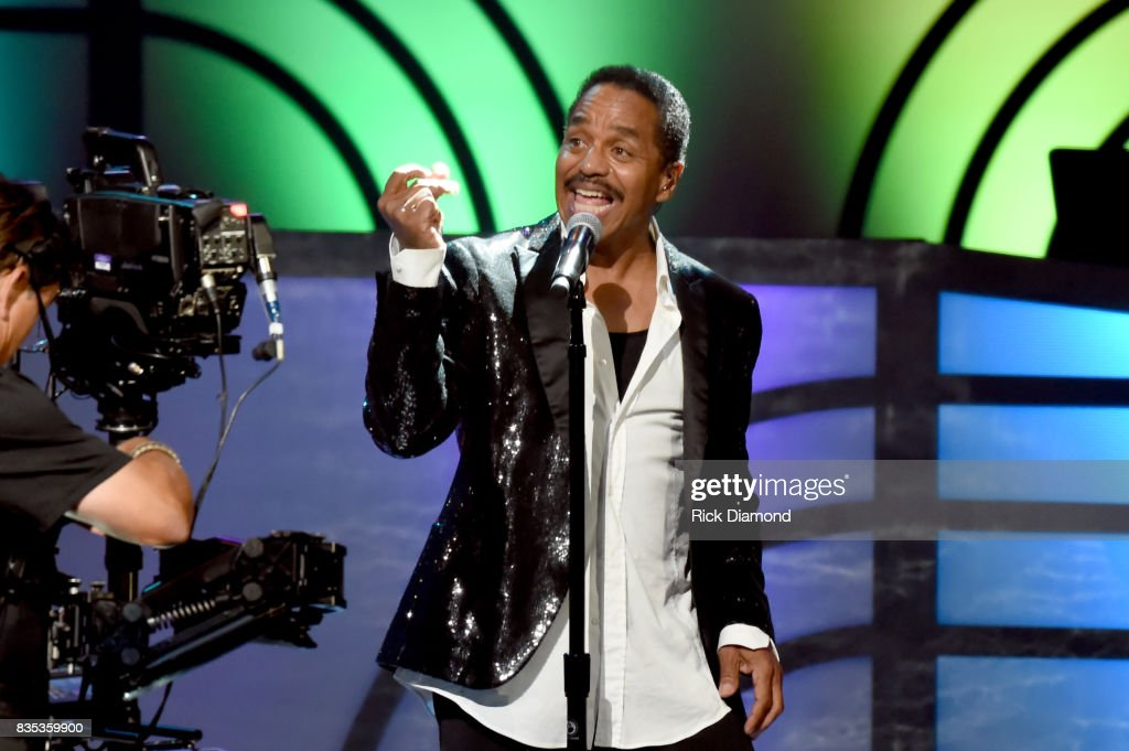 Marlon Jackson of The Jacksons perform onstage at the 2017 Black Music Honors at Tennessee Performing Arts Center on August 18, 2017 in Nashville, Tennessee.
