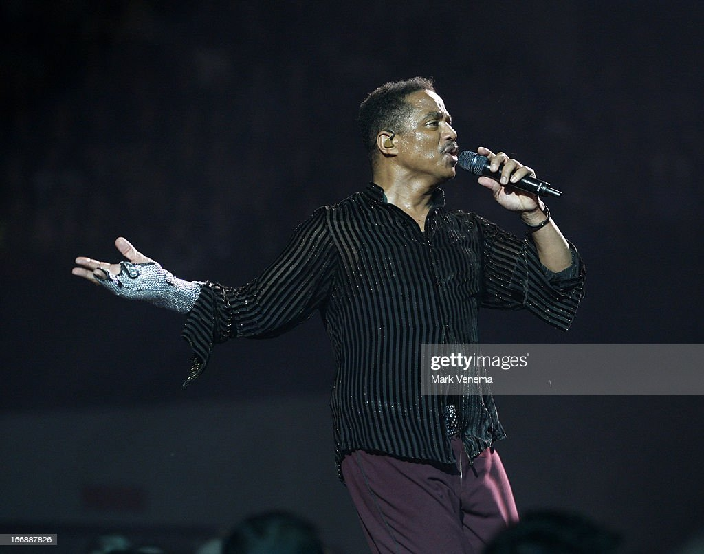 Marlon Jackson of The Jacksons performs at Night Of The Proms at Ahoy on November 23, 2012 in Rotterdam, Netherlands.