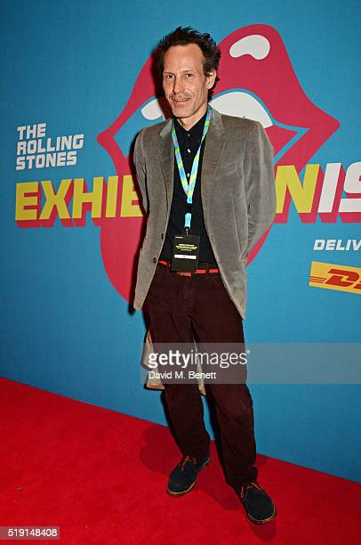 Marlon Richards attends a private view of 'The Rolling Stones Exhibitionism' at The Saatchi Gallery on April 4 2016 in London England