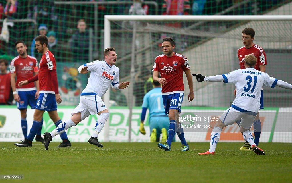 SpVgg Unterhaching v SC Paderborn 07 - 3. Liga