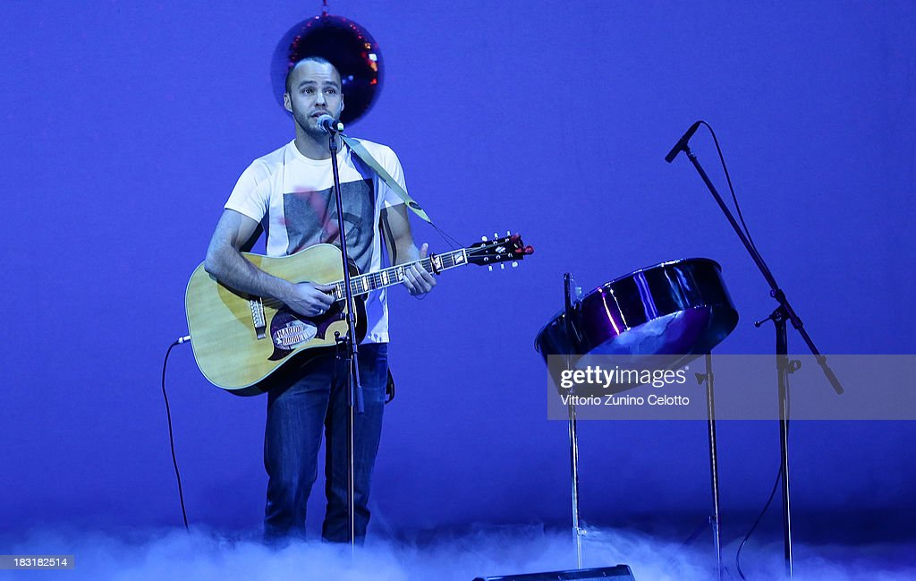 <a gi-track='captionPersonalityLinkClicked' href=/galleries/search?phrase=Marlon+Roudette&family=editorial&specificpeople=4501304 ng-click='$event.stopPropagation()'>Marlon Roudette</a> performs during the Zurich Film Festival 2013 award night on October 5, 2013 in Zurich, Switzerland.