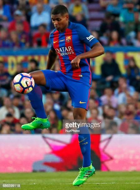 Marlon Santos during La Liga match between FC Barcelona v SD Eibar in Barcelona on May 21 2017