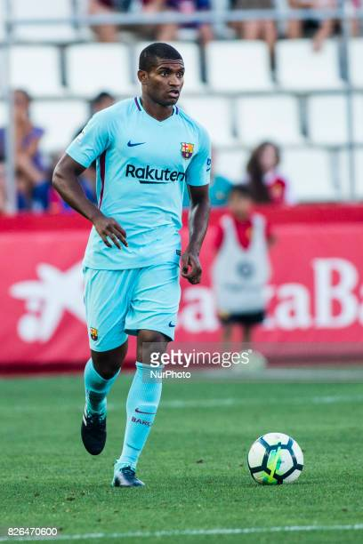 26 Marlon Santos from Spain of FC Barcelona during the friendly match between Nastic vs FC Barcelona at Nou Estadi de Tarragona on August 4th 2017 in...