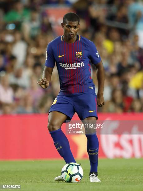 Marlon Santos of FC Barcelona during the Trofeu Joan Gamper match between FC Barcelona and Chapecoense on August 7 2017 at the Camp Nou stadium in...