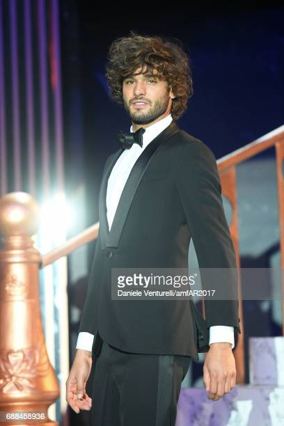 Marlon Teixeira on stage at the amfAR Gala Cannes 2017 at Hotel du CapEdenRoc on May 25 2017 in Cap d'Antibes France