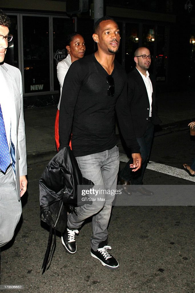 Marlon Wayans as seen on July 15, 2013 in Los Angeles, California.