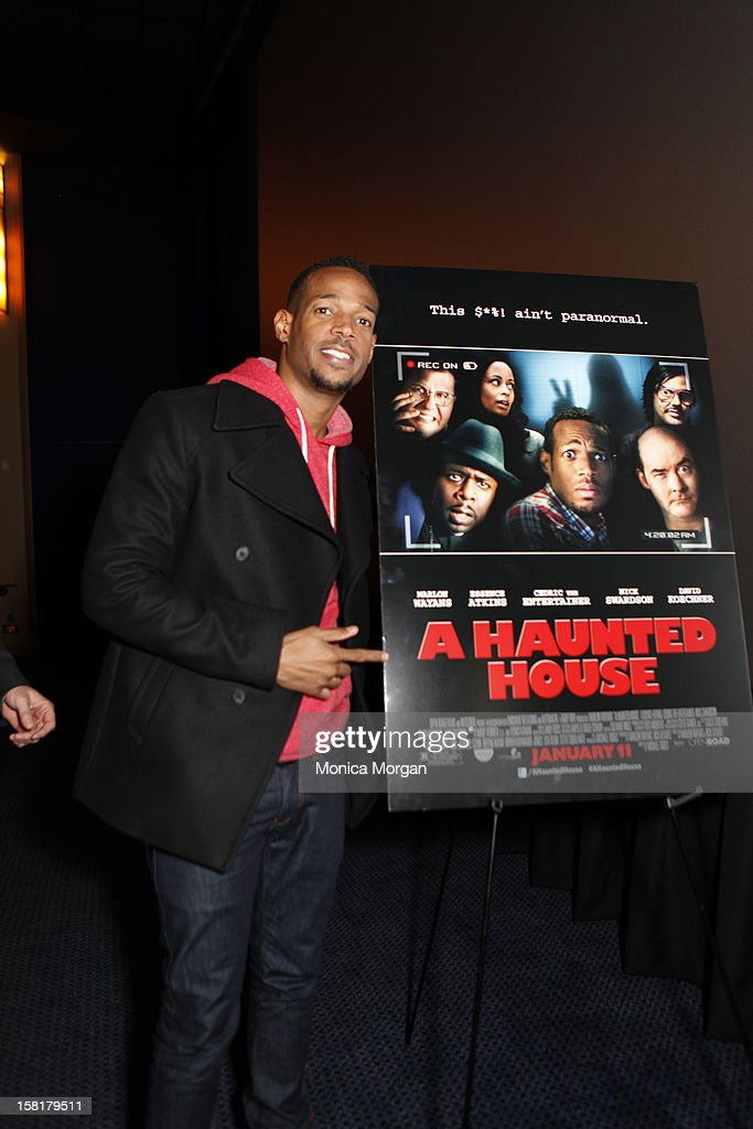 <a gi-track='captionPersonalityLinkClicked' href=/galleries/search?phrase=Marlon+Wayans&family=editorial&specificpeople=203226 ng-click='$event.stopPropagation()'>Marlon Wayans</a> attends 'A Haunted House' screening at Uptown Palladium on December 10, 2012 in Birmingham, Michigan.