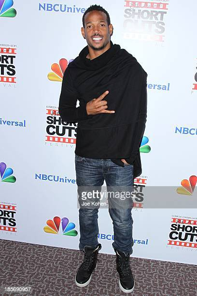 Marlon Wayans attends NBC Universal's 8th Annual 'Short Cuts Festival' Grand Finale at DGA Theater on October 23 2013 in Los Angeles California