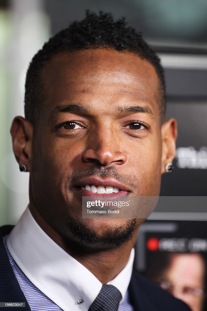 Marlon Wayans attends the 'A Haunted House' Los Angeles premiere held at the ArcLight Hollywood on January 3, 2013 in Hollywood, California.