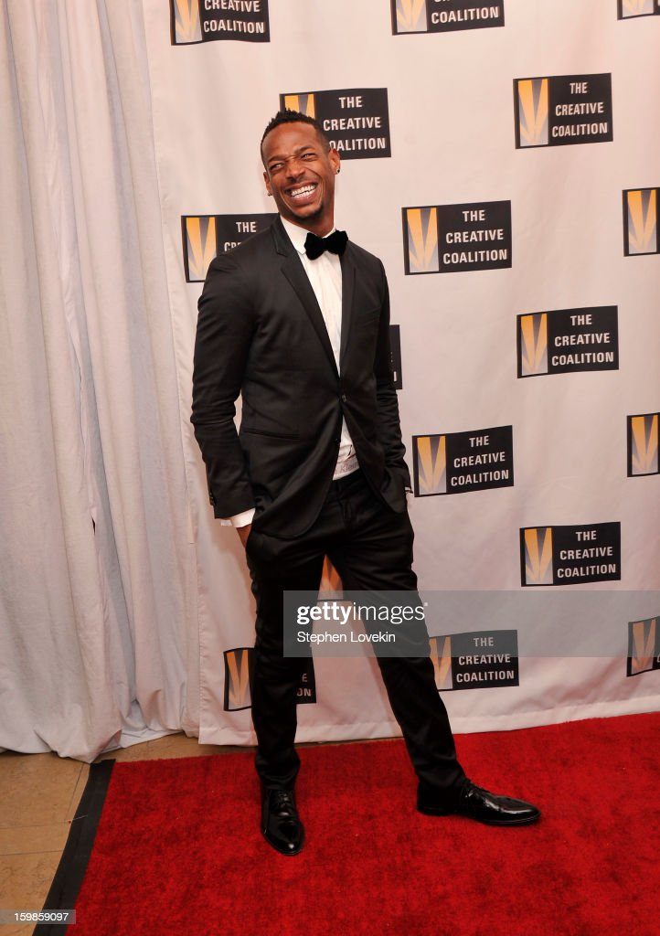 Marlon Wayans attends The Creative Coalition's 2013 Inaugural Ball at the Harman Center for the Arts on January 21, 2013 in Washington, United States.