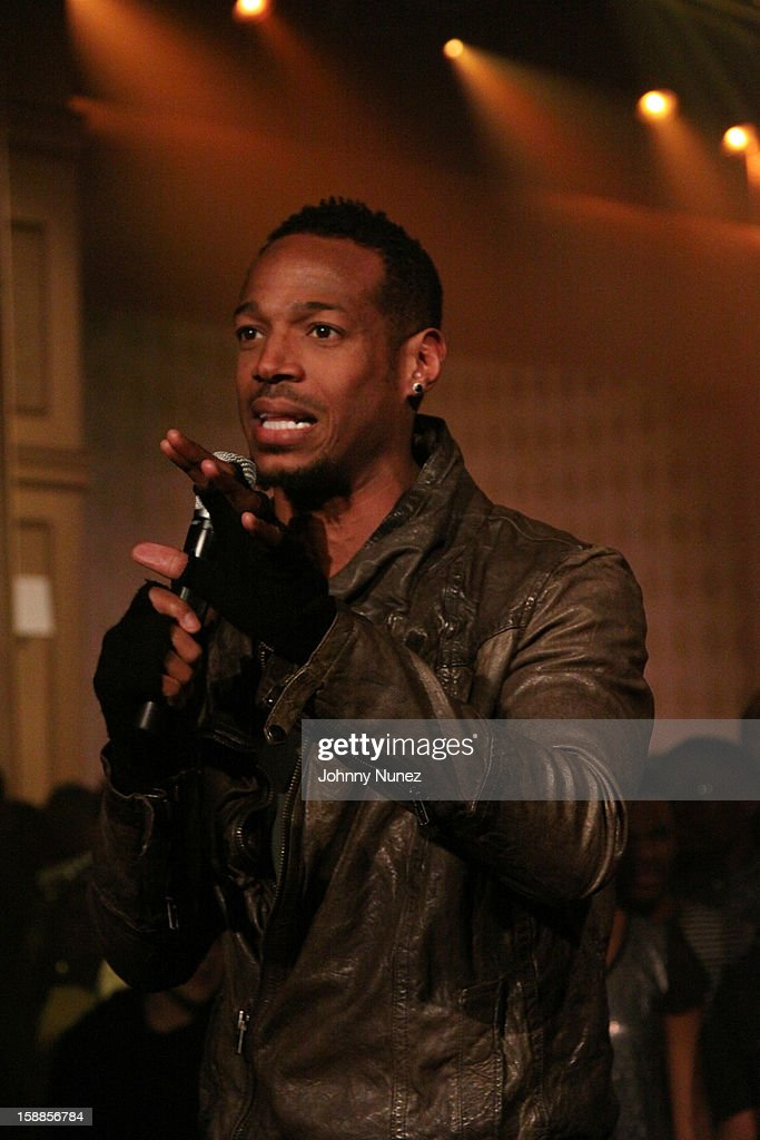 Marlon Wayans hosts the BET '106 & Party' New Years Eve celebration on December 31, 2012, in New York City.