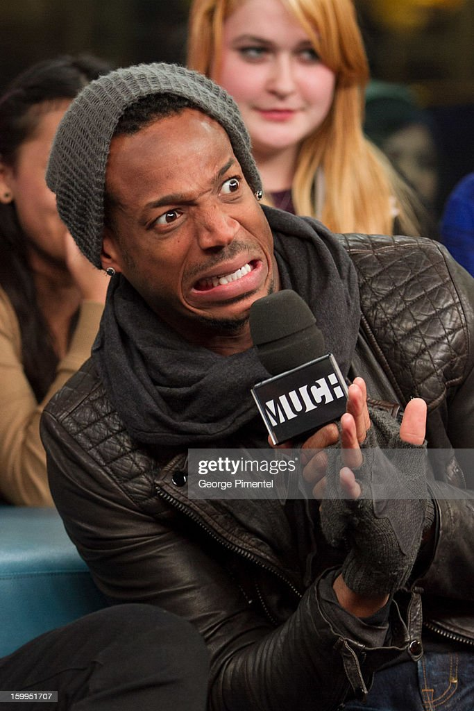 <a gi-track='captionPersonalityLinkClicked' href=/galleries/search?phrase=Marlon+Wayans&family=editorial&specificpeople=203226 ng-click='$event.stopPropagation()'>Marlon Wayans</a> on New.Music.Live at MuchMusic Headquarters on January 23, 2013 in Toronto, Canada.