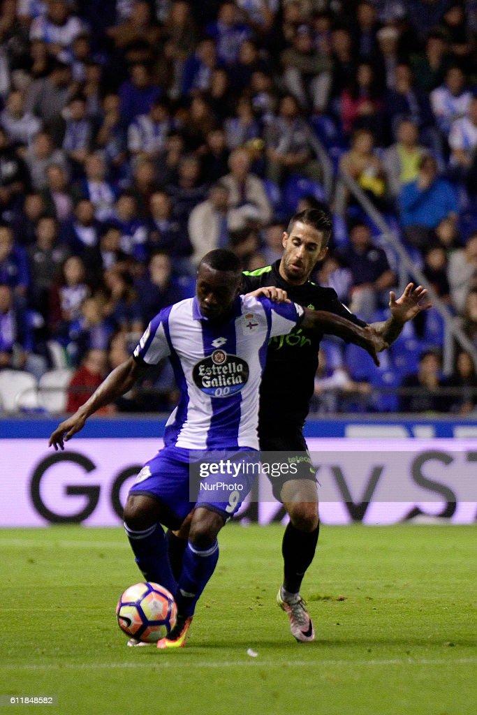 Deportivo La Coruna v Real Sporting Gijon - La Liga