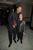 Marlow Rosado and Lolita De La Colina attends Latin Songwriters Hall Of Fame La Musa Awards at Ritz Carlton South Beach on October 18 2014 in Miami...