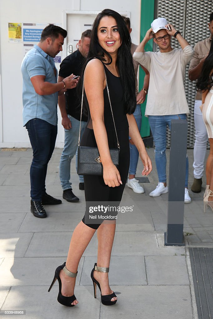 Marnie Simpson at MTV HQ in Camden to celebrate the Geordie Shore 5th Birthday Party on May 24, 2016 in London, England.