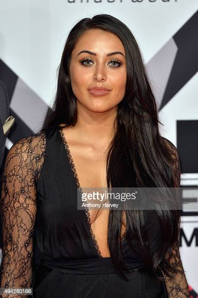 Marnie Simpson attends the MTV EMA's 2015 at the Mediolanum Forum on October 25 2015 in Milan Italy