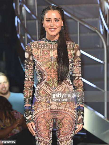 Marnie Simpson is evicted from the final of Celebrity Big Brother 2016 at Elstree Studios on August 26 2016 in Borehamwood England