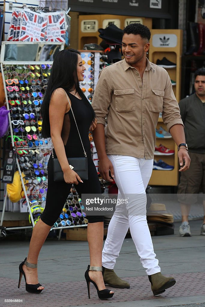 Marnie Simpson seen in Camden on May 24, 2016 in London, England.
