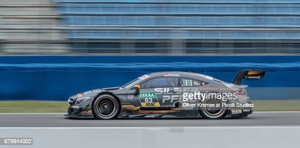 Maro Engel of MercedesAMG DTM Team HWA during the DTM free practice session 3 at the Hockenheimring on Day 2 of the DTM German Touring Car Masters...