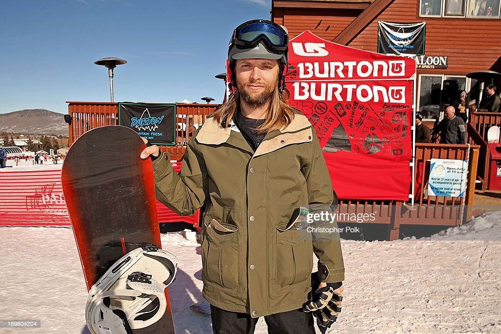 Maroon 5 band member James Valentine attends Burton Learn To Ride - Day 2 on January 20, 2013 in Park City, Utah.