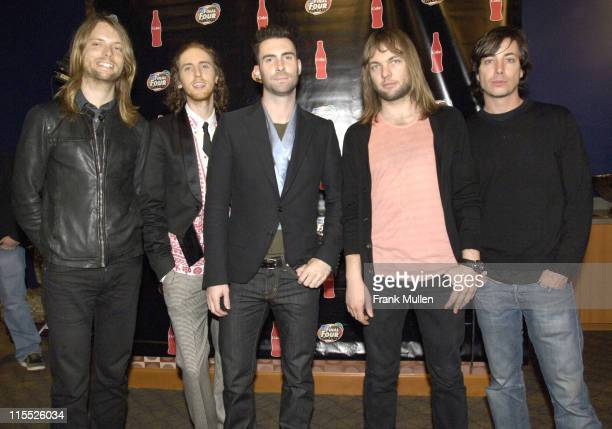 Maroon 5 during 2007 NCAA Men's Final Four CocaCola Meet and Greet April 1 2007 at Embassy Suites in Atlanta Georgia United States