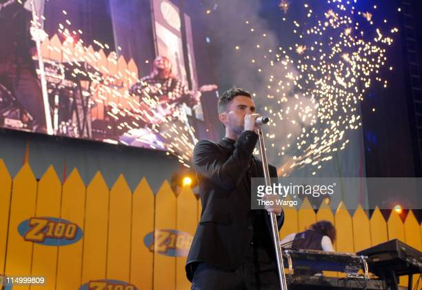 Maroon 5 during Z100's Zootopia 2007 Show at Nassau Coliseum in New York City New York United States