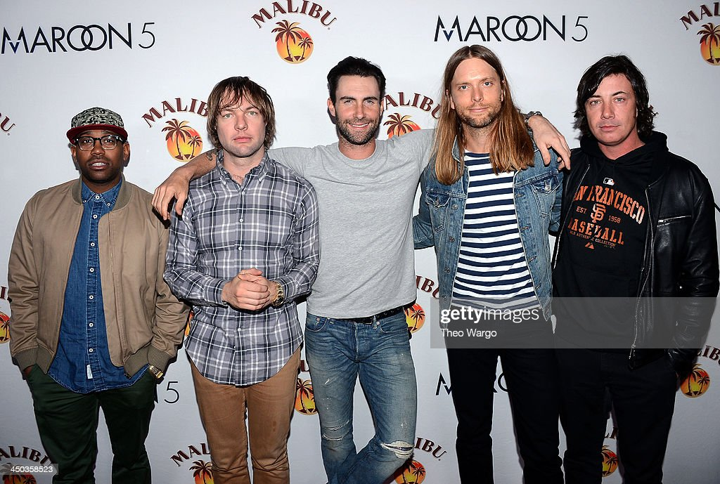 Maroon 5 Performs at Custom Marooned on Malibu Island Concert for New York City Fans at Roseland Ballroom on November 16, 2013 in New York City.