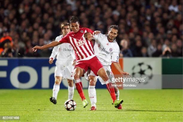 Marouane CHAMAKH / Hamit ALTINTOP Bordeaux / Bayern Munich Champions League Stade Chaban Delmas Bordeaux