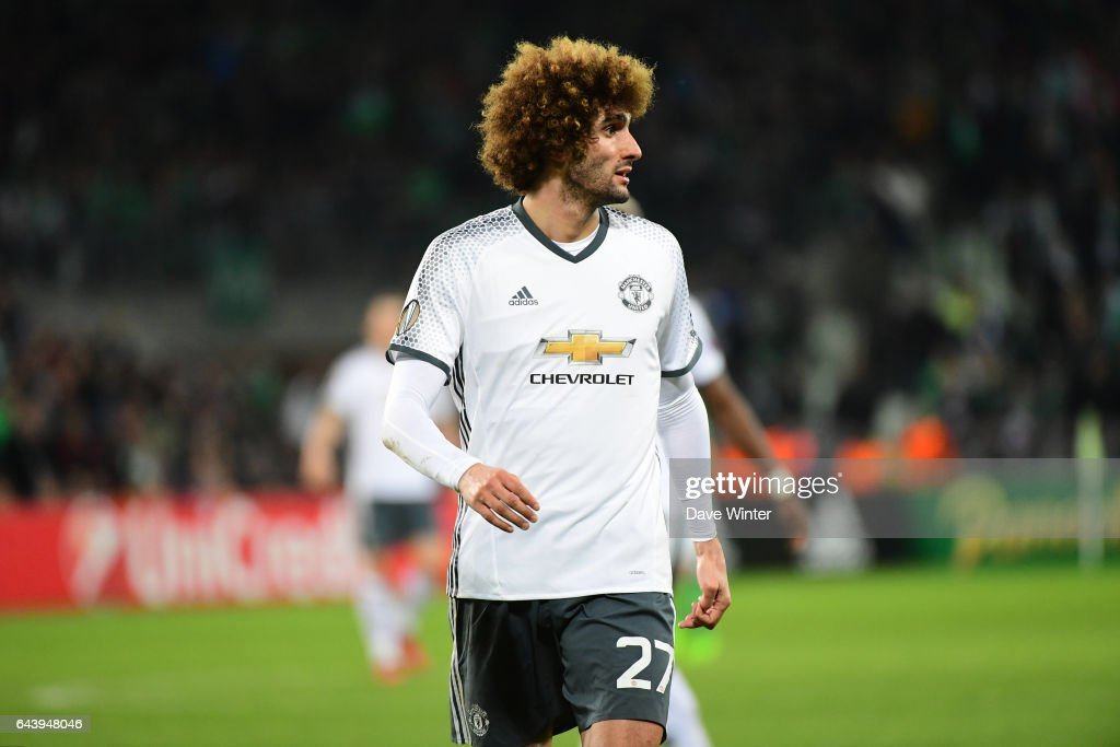 AS Saint Etienne v Manchester United - Europa League : News Photo