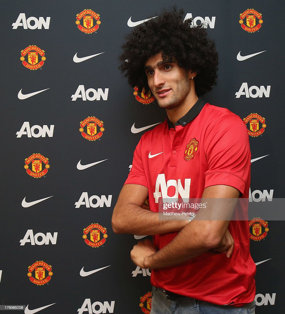 Manchester United Unveil New Signing Marouane Fellaini s and