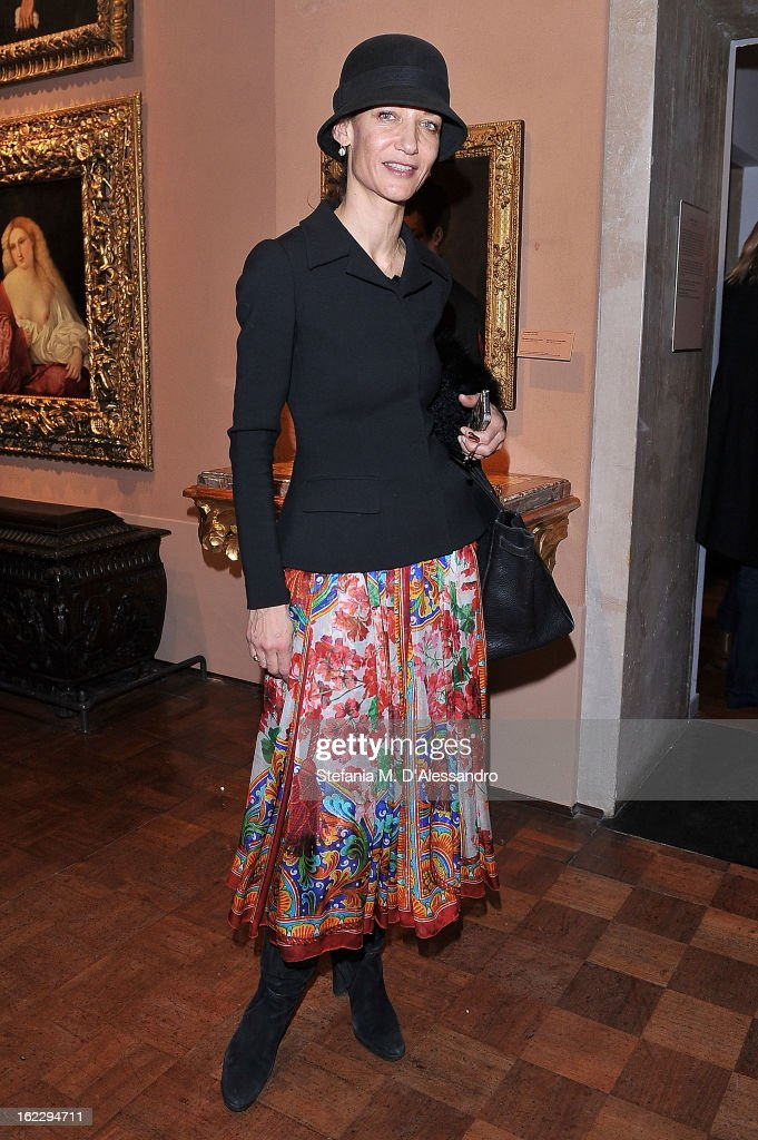 Marpessa attends W And Vionnet Hosts The Thayaht Exhibition on February 21, 2013 in Milan, Italy.