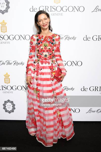 Marpessa Hennink attends the De Grisogono party during the 70th annual Cannes Film Festival at Hotel du CapEdenRoc on May 23 2017 in Cap d'Antibes...
