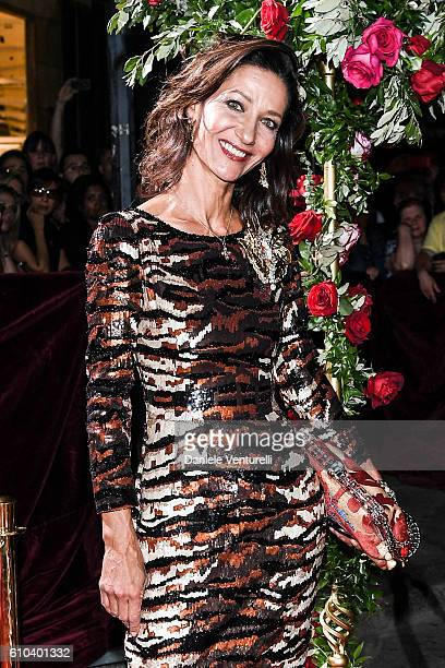 Marpessa Hennink attends the DolceGabbana Boutique Opening Event during Milan Fashion Week Spring/Summer 2017 on September 25 2016 in Milan Italy