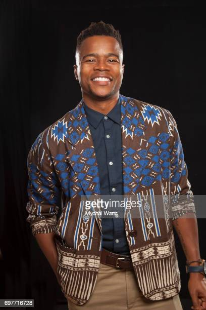 Marque Richardson Poses for a Portrait on Day 3 of the American Black Film Festival on June 14 2017 in Miami Florida