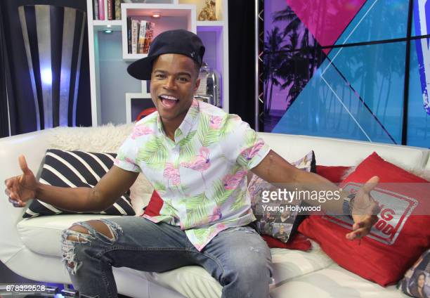 Marque Richardson visits the Young Hollywood Studio on May 3 2017 in Los Angeles California