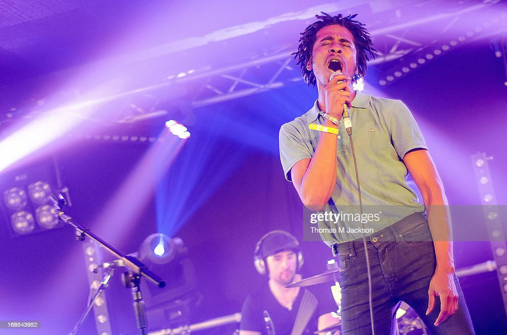 Marques Toliver performs on stage on Day 1 of the ATP Weekender curated by TV On The Radio on May 10, 2013 in Camber, United Kingdom.