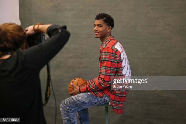 Marquese Chriss of the Phoenix Suns poses for a photo during the 2017 AllStar Media Circuit at the Ritz Carlton on February 16 2017 in New Orleans...