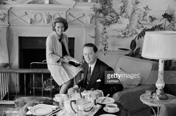 Marquess and Marchioness of Blandford Blenheim Palace Oxfordshire 1st July 1964