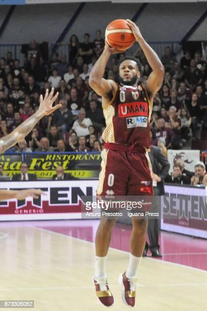 MarQuez Haynes of Umana in action during the LBA LegaBasket of Serie A match between Reyer Umana Venezia and Auxilium Fiat Torino at Palasport...