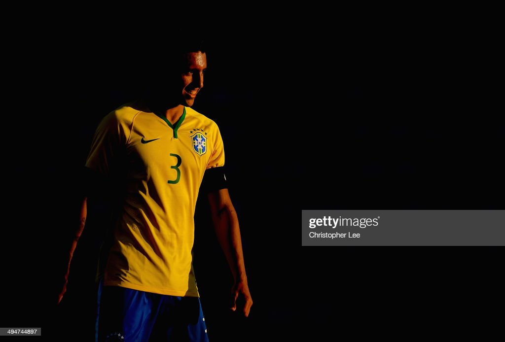 Marquinhos of Brazil during the Toulon Tournament Group B match between Brazil and Qatar at the Leo Legrange Stadium on May 30, 2014 in Toulon, France.
