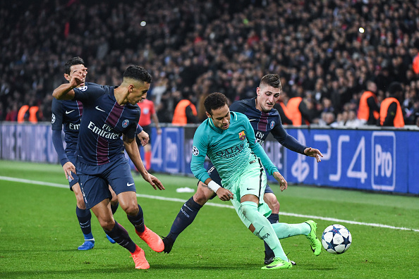 Paris Saint Germain v FC Barcelona - UEFA Champions League : News Photo