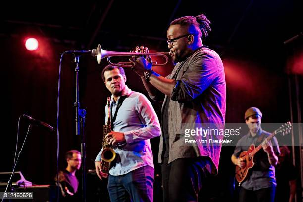 Marquis Hill Performs at North Sea Jazz Festival on Juli 7th 2017 in Rotterdam The Netherlands