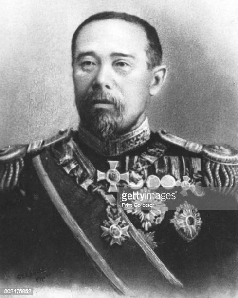 Marquis Ito' c1893 Prince Ito Hirobumi Japanese statesman who became the first prime minister of Japan in 1885 From the 2e collection [Felix Potin...