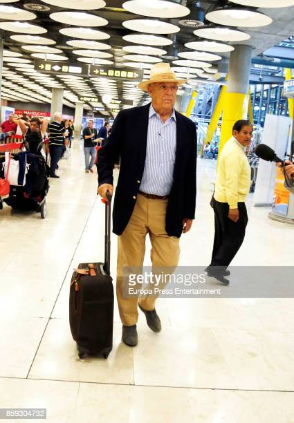 Marquis of Grinon Carlos Falco is seen on October 06 2017 in Madrid Spain