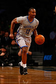 Marquis Teague of the Brooklyn Nets in action against the Atlanta Hawks at Barclays Center on April 11 2014 in New York City NOTE TO USER User...