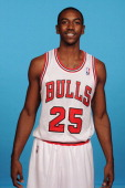 Marquis Teague of the Chicago Bulls poses for a portrait during media day on September27 2013 at Berto Center in Deerfield Illinois NOTE TO USER User...
