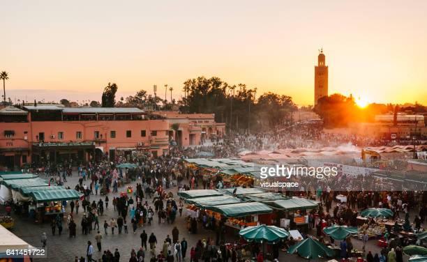 Marrakech -  Djemaa El Fna Square