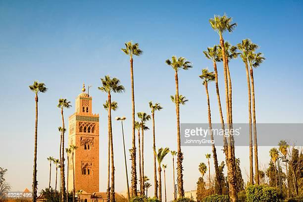 Marrakech de la mosquée Koutoubia